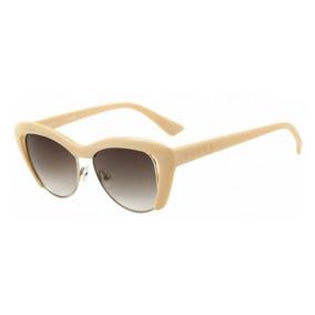 7b8d07f3f1516 Óculos De Sol Evoke Cat City Pink Nude Brown Gradient