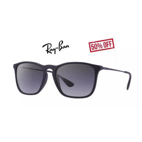 2e902a8740231 Óculos Ray Ban Rb 4187 Chris Preto Lançamento - Óculos no Mercado ...