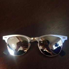 Óculos Ray-ban Clubmaster Original Prata Rb3507 137 40 51-21 6990ff285b383