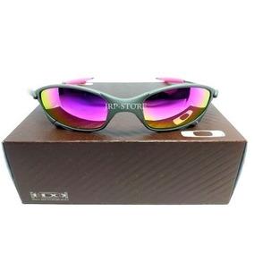 68954983959fb Oculos Lupa Oakley Juliet X Metal Lente E Borrachas Rosas Xx
