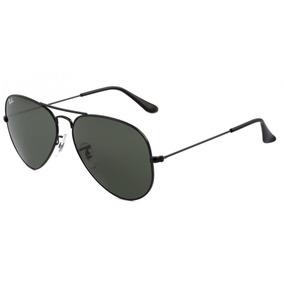 acabb0e07 Óculos De Sol Rayban 3025 Caçador Preto L.cinza - Óculos De Sol no ...