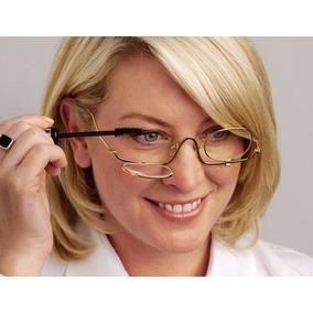 9b84b44cc3e7d Oculos Maquiagem Com Duas Lentes E Grau - Óculos no Mercado Livre Brasil
