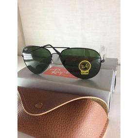 6eeaf232e Ray Ban Aviador Tamanho 60 De Sol - Óculos no Mercado Livre Brasil
