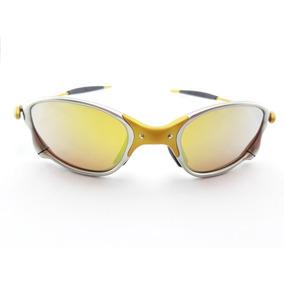 84a9cc6772eb2 Óculos Oakley Double X X Metal 24k Lupa Gold Dourada Penny