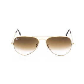 9e80273c9bd91 Ray Ban Aviador Rb3025 26 Marrom Degradê Original Feminino