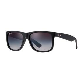 9b6544a4df7cb Oculos De Sol Ray Ban Justin Azul - Óculos De Sol no Mercado Livre Brasil