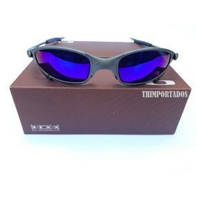 d496c0e74 Oakley Juliet Lente Azul Escuro - Óculos De Sol Oakley Juliet no ...