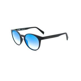22067ce1b228f Oculos Sol Evoke Evk 20 A11s Preto Fosco Lent Azul Espelhada