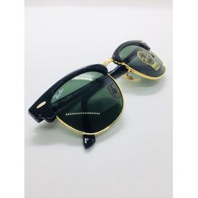 51f7b19f41914 Ray Ban Clubmaster Tartaruga Rb 3016 Tam 49 21 (pequeno) - Óculos no ...