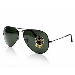 c3f9f734eb6b6 Oculos De Sol Ray Ban Aviador Rb3025 - Preto
