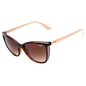 f61d380a8 Óculos De Sol Vogue Vo 2638 S Marrom Claro! Lindo!!! - Óculos no ...