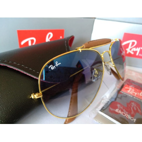 69b17eaf1 Oculos Ray Ban Cacador Dourado - Óculos De Sol no Mercado Livre Brasil