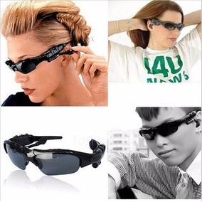 bf7ab0b7e3ddf Óculos De Sol Com Bluetooth Fone De Ouvido Ouvir Musica Tele