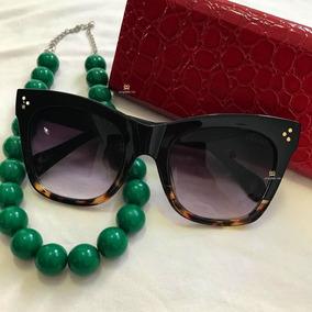 121f0f21b4f9d Óculos Celine Catherine Proteção Uv400 E Polarizado  3645