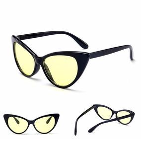 6eb95c454d550 Oculos Sol Retro Gatinha Uv 400 Cores Fashion Verão Feminino