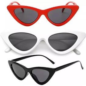 7b65c5f025757 Oculo Gatinho Vintage Branco - Óculos no Mercado Livre Brasil