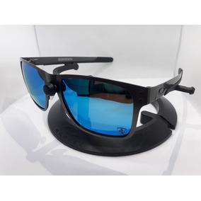 0cbf516aaaba6 Óculos Grafite Azul Metal-x Masculino Polarizado Co00-99465