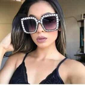fc62d5ca24a14 Óculos De Sol Gucci Quadrado - Óculos De Sol no Mercado Livre Brasil