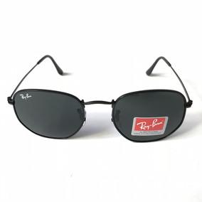 3450fd8e13a17 Oculo Sol Ray Ban Redondo Preto Barato - Óculos no Mercado Livre Brasil