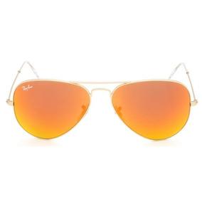 edf4599c04863 Rayban 3025 Aviator Tamanho Medio - Óculos De Sol Ray-Ban Aviator no ...