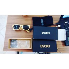 3333b8bb98e28 Bamboo Collection Evoke Wood Series De Sol - Óculos no Mercado Livre ...