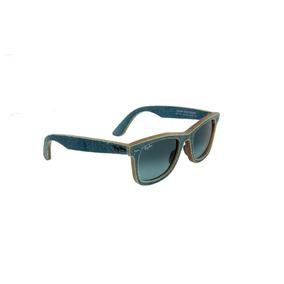 06215c5bde886 Óculos De Sol Ray-ban 100% Proteção U.v. Melani Jeans Claro