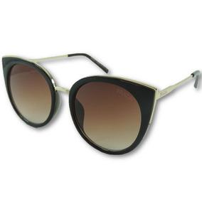 fbea2fb01e557 Óculos De Sol Feminino Dior Gatinha Marrom Uv400 Oferta