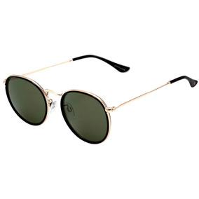 1347adc7719c0 Atitude At 3215 - Óculos De Sol A01 Preto E Dourado Brilho