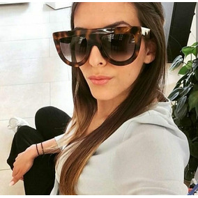 2608f8cf2071f Oculos Sol Quadrado Grande Feminino Outras Marcas - Óculos no ...