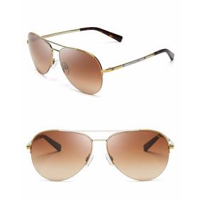 3dba76ea83ec2 Oculos Michael Kors Dourado Estilo Aviator - Óculos no Mercado Livre ...