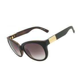 7130e0ceb6792 Óculos De Sol Evoke Mystique Wd02 Black Wood Gold Brown Grad