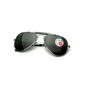 402afa5ac7122 Óculos Ray Ban Caçador Outdoorsman Rb 3029 Marrom De Sol - Óculos no ...