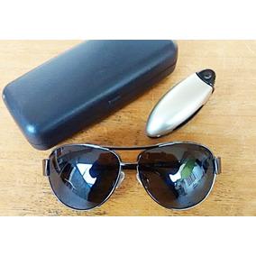 86905ede82cfc Óculos De Sol Unissex Aviador 100% Lentes Polarizado Uva Uvb ...