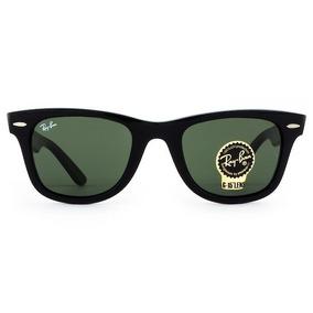 9e6ae9254d39c Óculos Ray Ban Wayfarer Rb2140 Verde G15 Masculino Feminino