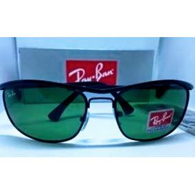 07f76acc7b5ea Ray Ban 8013 Preto Com Lentes Verdes - Óculos no Mercado Livre Brasil