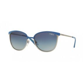 25b4bdae70179 Óculos De Sol Vogue Prata - Óculos no Mercado Livre Brasil