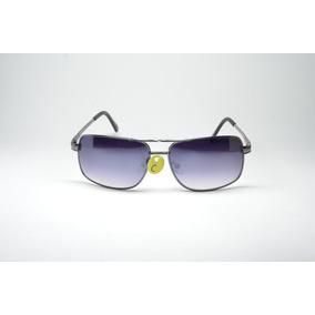 73ed834f0 Óculos De Sol Masculino Metal Lente Proteção Uv400 Phantom