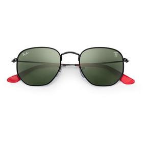 fbbd33d6cff29 Óculos Ray-ban Rb3548 Hexagonal Ferrari Envio 24h + Brinde