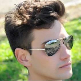 d799c2a5e919f Ray Ban Aviador Cinza Espelhado - Óculos no Mercado Livre Brasil