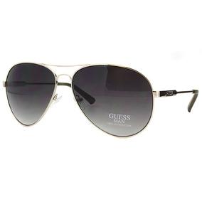 5fd1f6a476f16 Guess Óculos De Sol Masculino Gu6735 Aviador Original Usa !