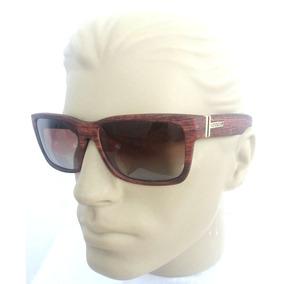 bfd164f0c98dd Óculos De Sol Masculino Von Zipper Tipo Madeira Polarizado