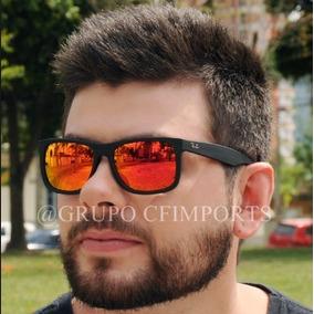 dc80aa97c Oculos Rayban Espelhado Quadrado - Óculos no Mercado Livre Brasil
