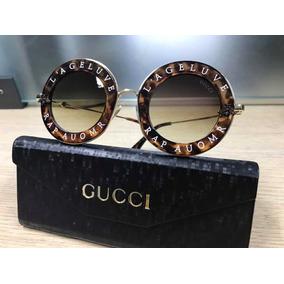 466a0acee Oculos De Sol Gucci Tartaruga - Óculos no Mercado Livre Brasil