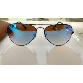 ecd864d9516d6 Ray Ban Aviador Rb3025 002 40 Preto Espelhado - Óculos no Mercado Livre  Brasil