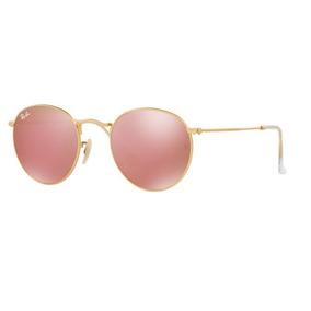 2243a8e5fc3e5 Oculos Redondo Lente Rosa De Sol - Óculos no Mercado Livre Brasil