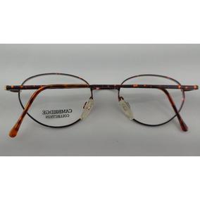149e6bd1608e6 Oculos Vintage De Grau Feminino Haste Dourada - Óculos no Mercado ...