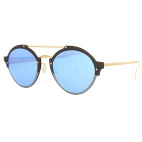 95eead1c49b00 Oculos Illesteva Espelhado Azul De Sol - Óculos no Mercado Livre Brasil