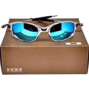25abbf279 Oakley Juliet Azul Escuro - Óculos De Sol Oakley Com proteção UV no ...