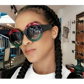 273eac156b716 Gaiola Redonda Luxo De Sol Outras Marcas - Óculos no Mercado Livre ...