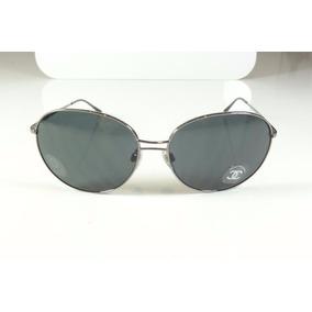 2e35492601456 Oculos De Sol Chanel Feminino Grande Redondo Original A804